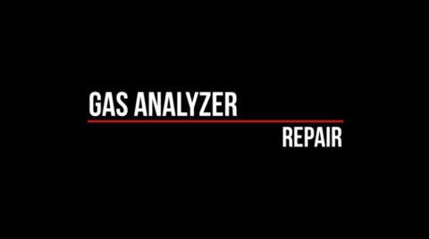 Repair of Gas Analyzer